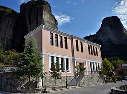 Geological Formation Museum of Meteora