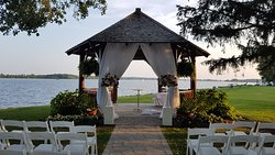 Gazebo set up for wedding