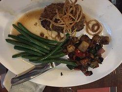Maple, Mustard & Pretzel-Crusted Boneless Pork Chop