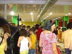 foto interior tienda AFRIC ART