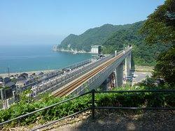 Amarube Railroad Bridge, Sorano Eki