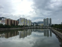 View from Shing Mun River