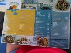 menu first page