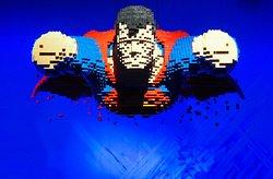 The Art of the Brick DC Super Heroes Paris