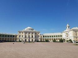 Palácio Pavlovsk e Parque