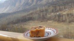 Cafe De hunza walnut Cake...A must try