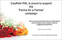 Throughout August we are supporting Parma for a Farmer