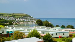 View of Newquay from Quay West Holiday Park