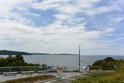 浜名湖を臨むSA