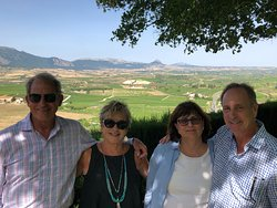 View from the top of LaGuardia over the Rioja valley