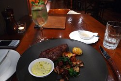 Very good steak.