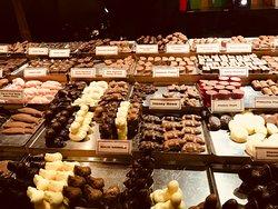 Teuscher Chocolates of Switzerland right before Thanksgiving