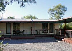 We had a nice quiet corner cabin