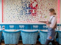 The Flower Wall @ Hyde Bar & Gin Parlour, Galway.