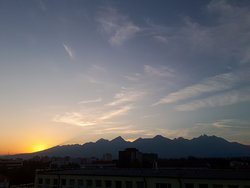 High Tatras - office view - that´s what we use as an inspiration for new tours :)