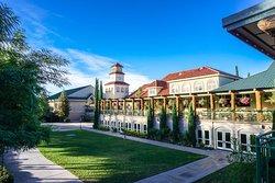 South Coast Winery Courtyard