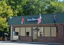 The Cedar Stump Pub