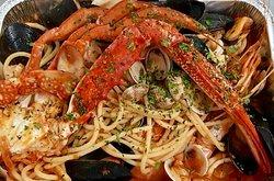 Spaghetti allo scoglio - specialità