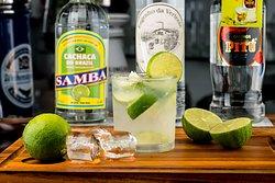 Refreshing Caipirinha Cocktail