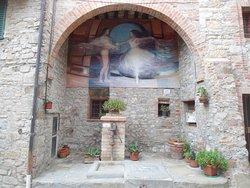 The Painted Wall of Mugnano