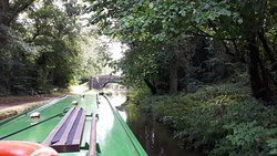 Beautiful scenery on the Mon and Brec canal