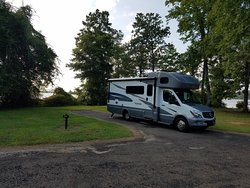 Beautiful Campground and they ARE dog friendly
