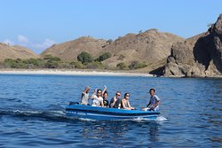 Amazing boat trip in Komodo