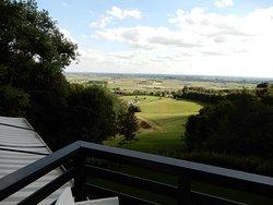 Ongelooflijk panorama boven op de Kemmelberg