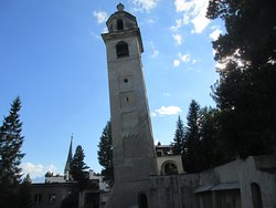 The Leaning Tower, Engadin St. Moritz