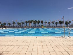Olympic 50m heated outdoor pool