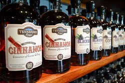 We have a variety of small batch flavored whiskies