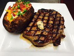 Filet Steak and Seafood