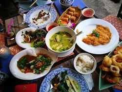 Best Thai food restaurant at Kong Muang Beach!!