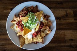 Nachos are large servings