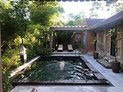 Villa con piscina privada: un paraíso!