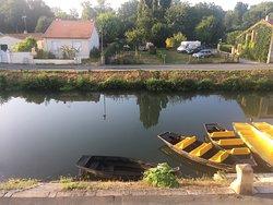 Bel endroit pour visiter le Marais Poitevin
