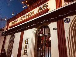 Ramblas Soul Black Bar