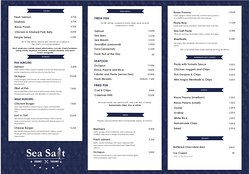 Sea Salt Gourmet Takeaway
