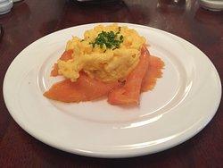 Smoked Salmon Scrambled Eggs