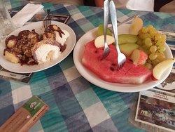 mi gran comida griega!