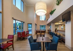 Beautiful dining and space for small meetings!