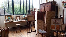Musée de Montmartre - atelier de Suzanne Valadon