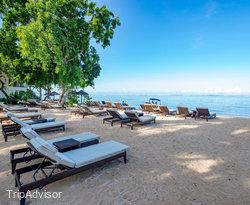Beach at the Hilton Mauritius Resort & Spa