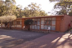 In the middle of a great national park, yes emus wander around behind the accommodation.