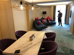 Living area of Suite 1033