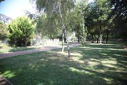Vue du parc Wilson, chercher les fleurs!! La ville de Thionville a été récompensé par 3 fleurs ?