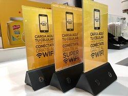 En PRETZY disfruta de nuestro SUPER WIFI - Cargadores para dispositivos móviles