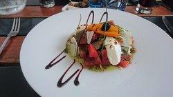 succulente salade en entree