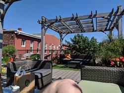 Nice rooftop bar