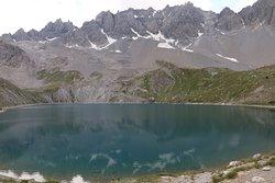 lac saint anne vue d'en bas